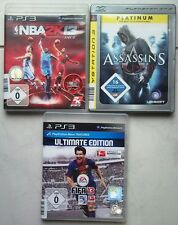 Fifa 13 2013 futbol + Assassin 's Creed + NBA 2k13 2013 baloncesto ps3 juegos