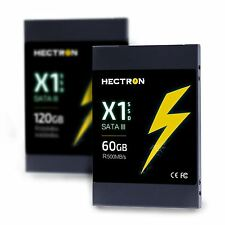 "SSD 60GB hectron X1 2.5 ""SATA III MLC 500 MB / s Laptop INTERNAL SOLID STATE DRIVE"