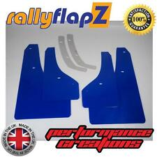 Rally Style Mudflaps to fit VAUXHALL ASTRA GTC VXR Mud Flaps x 4 Blue 3mm PVC