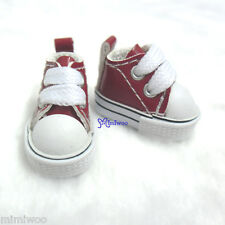 "Mimi Collection 12"" Neo Blythe Pullip Doll PU Leather MICRO Shoes Sneaker RED"