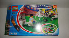 Lego Shoot 'n' Save Soccer Set 3422 With Manual, Incomplete Set Missing Pieces