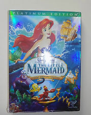 CHILDS  WALT DISNEY 2 DISC DVD THE LITTLE MERMAID SPECIAL EDITION NEW