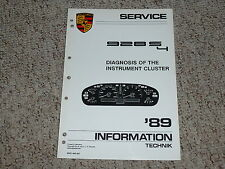 1989 Porsche 928S4 928 S4 Instrument Cluster Shop Service Repair Workshop Manual