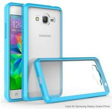 Sky Blue/Clear PRISM Series Scratch Resistant Case for Samsung Grand Prime