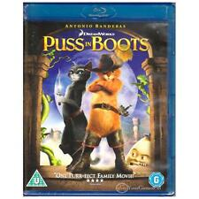 BLU-RAY PUSS IN BOOTS Antonio Banderas Animated Comedy CAT BLURAY REGION B [BNS]