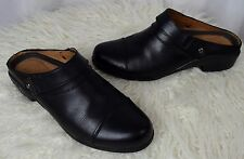 ARIAT Sport Leather Mules Clogs Ankle Boots Black 10004928 Size 9