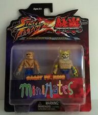 Minimates Street fighter X Tekken Sagat vs. King