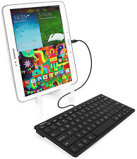 MACALLY WKEYAND FULL SIZE KEYBOARD MICRO USB FOR SAMSUNG ANDROID TABLET PHONE
