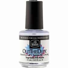 INM OUT THE DOOR SUPER FAST DRYING TOP COAT FOR NAILS 0.5 fl oz