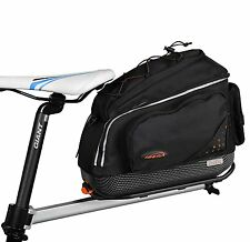 Ibera USA Bicycle seatpost-mounted Commuter Rack & Quick-release Commuter Bag