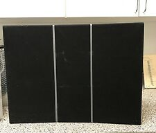 AWESOME VERY NICE  BANG OLUFSEN B&O BEOVOX RL2000 SPEAKERS WHITE DRK GREY CLOTH
