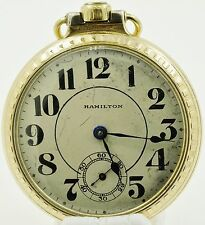 Hamilton R.R. 21 Jewel 992 Pocket Watch