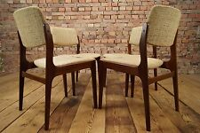 4x chaises de salle à manger Mid-Century chaise vintage set of 4 Dining Chairs Danish 60s