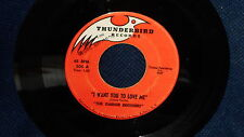 """The Ganer Brothers """"The Night That You Left Me/I Want You To Love Me"""" 45"""