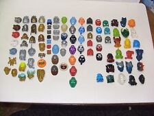 LARGE LOT LEGO BIONICLE MASKS 45 gold iridescent copper Kanohi time rare HUGE