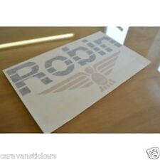 CI Caravans Robin Wings Name & Design Sticker Decal Graphic - SINGLE