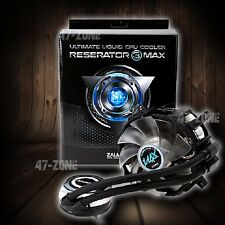 Zalman Reserator 3 MAX Nanofluid Liquid CPU Cooler Blue LED Fits Intel AMD CPUs