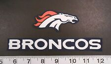 FREE SHIPPING NFL Denver Broncos Iron On Fabric Applique Patch Logo DIY Craft #1