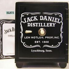 JACK DANIEL'S OFFICE SAFE BANK Replica NEW in BOX w/COA OLD No.7 Daniels Piggy