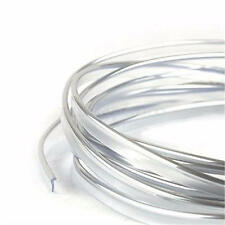 Flexible Car Moulding Line Interior External Decorative Trim Strip 5m Silver