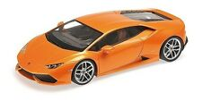 Kyosho 1:18 Lamborghini Huracan LP610-4, Orange w/Silver Wheels