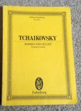 Tchaikovsky. Romeo And Juliet. Fantasy Overture. Romeo & Juliet. Eulenburg No675