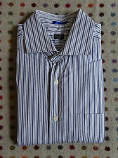 Paul Smith Striped Double Cuffed Shirt - Mens 16.5 Neck
