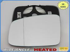 Wing Mirror Glass RENAULT ESPACE IV 2010-2014 Wide Angle HEATED Left Side