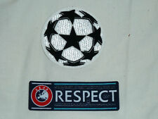 CHAMPIONS LEAGUE Star Sleeve Badge Set Patch For Football Shirt Jersey Iron On