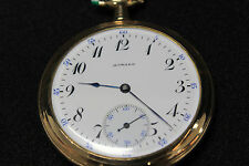 Vintage E. Howard pocket watch 17J  Gold Filled