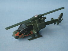 Matchbox Mission Chopper Helicopter Army Green Camo 70mm Long UB