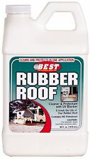 Rubber Roof Cleaner Sealer Protectant UV Camper RV Travel Trailer Cleaning New