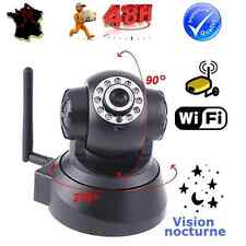 CAMERA IP WIFI MOTORISEE INTERNET SANS FIL ESPION SURVEILLANCE DOMICILE/BEBE