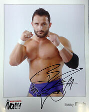 Official Pro Wrestling NOAH Hand Signed Bobby Fish 2011 8x10