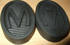 Pair Morris Ten 10 Series M Pedal Rubbers