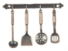 Metal Kitchen Utensils, Dolls House Miniatures Kitchen Accessory 1.12 Scale