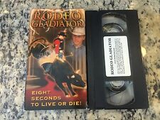 RODEO GLADIATOR TY MURRAY EIGHT SECONDS TO LIVE OR DIE RARE VHS! NOT ON DVD BIO!
