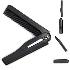 Handmade Folding Pocket Clip Hair Moustache Beard Comb Hot Sale