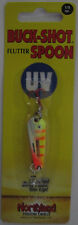 Northland Tackle BUCK-SHOT® FLUTTER SPOON - 1/8 oz. - Electric Perch UV