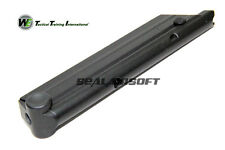 WE 15rds Gas Airsoft Toy Magazine For P08 GBB Series Black WE-MAG-011