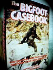 JANET & COLIN BORD: THE BIGFOOT CASEBOOK ~ 1ST EDN HC w/ D/J 1982  CRYPTOZOOLOGY