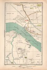 1933 LONDON MAP-PURFLEET,WENNINGTON,LONG REACH,RIFLE RANGE,AVELEY