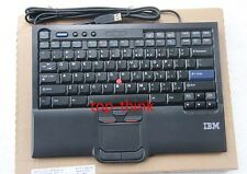 for IBM Thankpad SK-8845 travel USB standard keyboard+Trackpoint Hidden Line US
