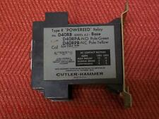 Cutler Hammer D40RB Powereed Relay 120V - Used