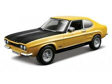 FORD CAPRI 1:32 scale yellow diecast car model die cast cars models metal