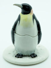 Figurine Animal Statue Salt Pepper Shaker Penguin with Tray - KSP041