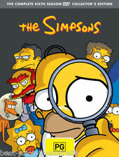 The SIMPSONS: The COMPLETE Season 6 DVD TV SERIES BRAND NEW 4-DISCS BOX SET R4