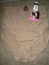 Delta Burke Cafe Control Waist Nipper Brief Shaper DB7633 NWT 2X 9