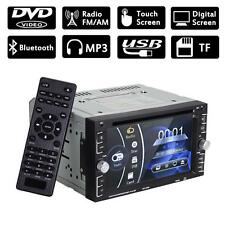 """Double 2Din 6.2"""" Car Stereo DVD CD MP3 Player HD In Dash Bluetooth TV Radio MT"""
