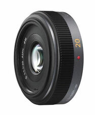 Panasonic Lumix G 20 mm F/1.7 Aspherical Objektiv silber